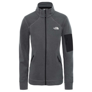 Polar Drumetie Femei The North Face Impendor Power Dry Jkt Vanadis Grey Da (Gri)