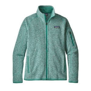 Polar Femei Hiking Patagonia Better Sweater Verde Deschis