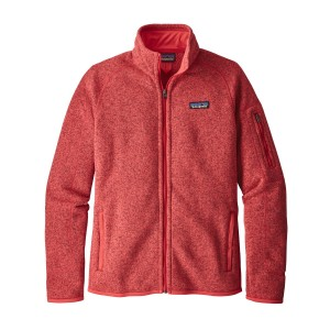 Polar Femei Hiking Patagonia Better Sweater Rosu