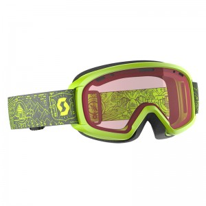 Ochelari Ski si Snowboard Juniori Scott Witty Yellow / Enhancer