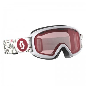Ochelari Ski si Snowboard Juniori Scott Witty White/Pink / Amplifier