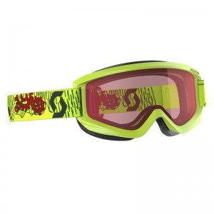 Ochelari Ski si Snowboard Juniori Scott Agent Yellow / Enhancer