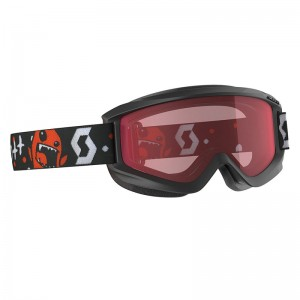 Ochelari Ski si Snowboard Juniori Scott Agent Black/Red / Enhancer