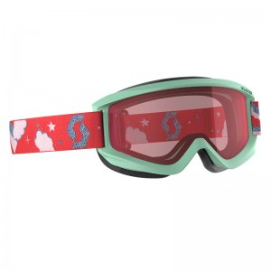 Ochelari Ski si Snowboard Juniori Scott Agent Mint / Enhancer