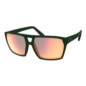 Ochelari Soare Casual Unisex Scott Tune Iris Green/Red Chrome Enhancer (Verde)