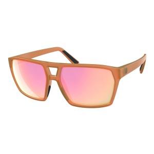 Ochelari Soare Casual Unisex Scott Tune Translucent Orange/Pink Chrome (Portocaliu)