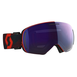 Ochelari Ski Unisex Scott Lcg Evo Red/Blue Nights/Solar Blue Chrome