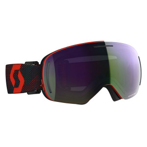 Ochelari Ski Unisex Scott Lcg Evo Red/Blue Nights/Enhancer Green Chrome
