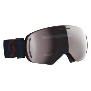 Ochelari Ski Unisex Scott Lcg Evo Merlot Red/Blue Nights/Enhancer Silver Chrome