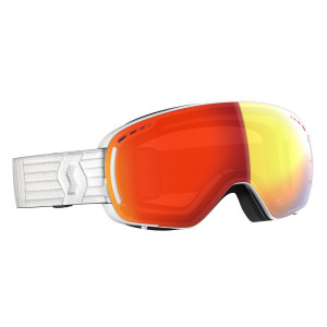 Ochelari Ski Unisex Scott Lcg Compact White/Enhancer Red Chrome