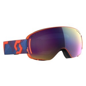 Ochelari Ski Unisex Scott Lcg Compact Grenadine Orange/Enhancer Teal Chrome