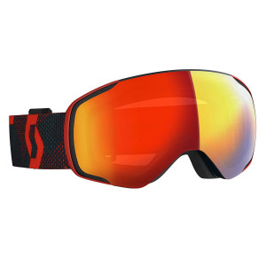 Ochelari Ski Unisex Scott Vapor LS Red/Blue Nights/Light Sensitive Red Chrome