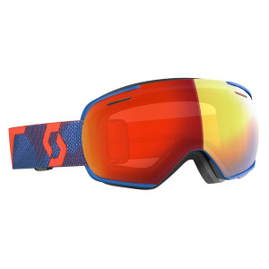 Ochelari Ski Unisex Scott Linx Grenadine Orange/Riverside Blue/Enhancer Red Chrome