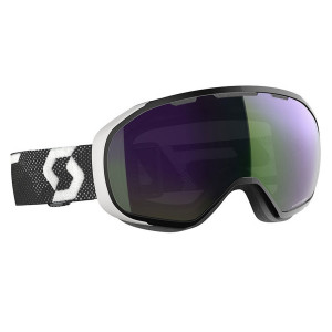 Ochelari Ski Unisex Scott Fix Black/White/Enhancer Green Chrome