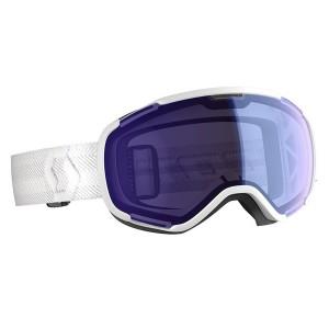 Ochelari Ski Unisex Scott Faze II White/Illuminator Blue Chrome