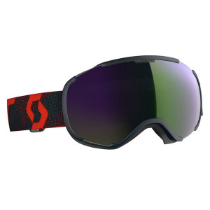 Ochelari Ski Unisex Scott Faze II Blue Nights/Red/Enhancer Green Chrome