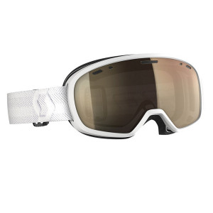 Ochelari Ski Unisex Scott Muse Pro Ls White/Light Sensitive Bronze Chrome
