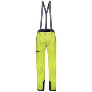 Pantaloni Ski Barbati Scott Explorair 3L Lime Yellow