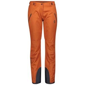 Pantaloni Ski Femei Scott Ultimate Drx Brown Clay