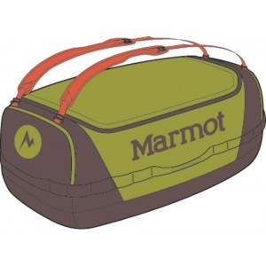 Geanta transport Marmot Long Hauler Duffel Medium Verde / Gri