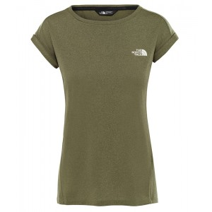 Tricou Femei Hiking The North Face Tanken Tank Kaki