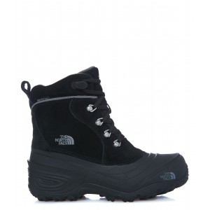 Ghete Juniori Hiking The North Face Chilkat Lace 2 Negru