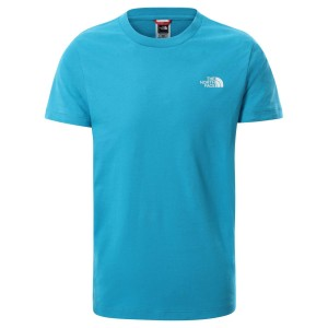 Tricou Casual Copii The North Face Youth S/S Simple Dome Tee Albastru