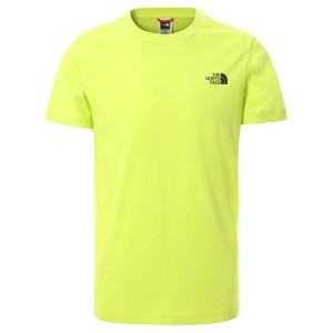 Tricou Casual Copii The North Face Youth S/S Simple Dome Tee Lime