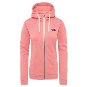 Hanorac Drumetie Femei The North Face W Kutum Full Zip Hoodie-EU Mauve Glow Heather (Somon)