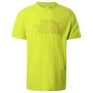 Tricou Drumetie Barbati The North Face Wicke Graphi Crew Lime