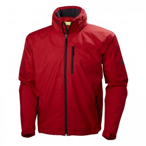 Geaca Hiking Barbati Helly Hansen Crew Hooded Rosu