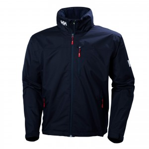 Geaca Hiking Barbati Helly Hansen Crew Hooded Bleumarin