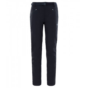 Pantaloni Femei Hiking The North Face Exploration Insulated Negru