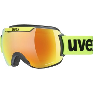 Ochelari Ski si Snowboard Unisex Uvex Downhill 2000 CV Black Lime Mirror Orange Green