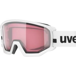 Ochelari Ski si Snowboard Unisex Uvex Athletic V OTG White Mirror Vario Clear