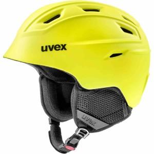 Casca Ski si Snowboard Unisex Uvex Fierce Yellow Mat (Galben)