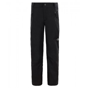 Pantaloni Fete Ski si Snowboard The North Face Freedom Insulated Negru