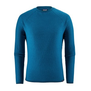 Bluza First Layer Barbati Hiking Patagonia Capilene Air Crew Albastru