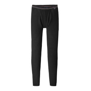 Pantaloni First Layer Barbati Hiking Patagonia Capilene Air Bottoms Negru