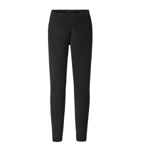 Pantaloni First Layer Femei Hiking Patagonia Capilene Air Bottoms Negru