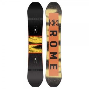 Placa Snowboard Unisex Rome Stale Mod 156 Multicolor