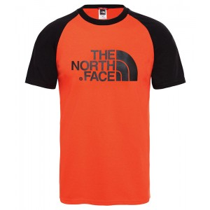Tricou Barbati The North Face Raglan Easy Rosu