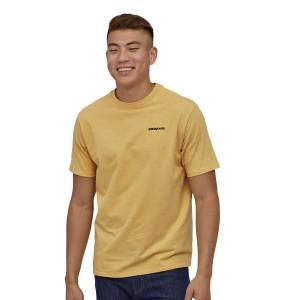 Tricou Drumetie Barbati Patagonia P-6 Logo Responsibili-Tee Surfboard Yellow (Galben)