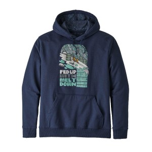 Hanorac Barbati Patagonia Fed Up With Melt Down Uprisal Hoody Classic Navy  (Bleumarin)