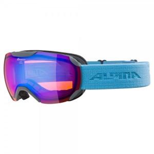Ochelari Ski Si Snowboard Unisex Alpina Pheos S HM Grey-Skyblue/Blue Gri