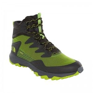 Ghete Barbati Hiking The North Face Ultra Fastpack III Mid GTX Verde
