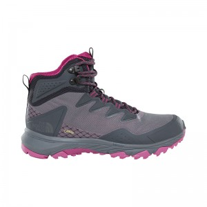 Incaltaminte Femei Hiking The North Face Ultra Fastpack III Mid GTX Gri