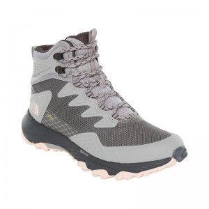 Ghete Femei Hiking The North Face Ultra Fastpack III Mid GTX Gri