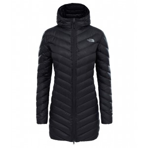 Geaca Femei Hiking The North Face Trevail Parka Negru