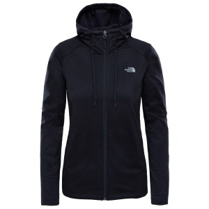 Hanorac Drumetie Femei The North Face W Tech Mezzaluna Hoodie-EU Tnf Black (Negru)